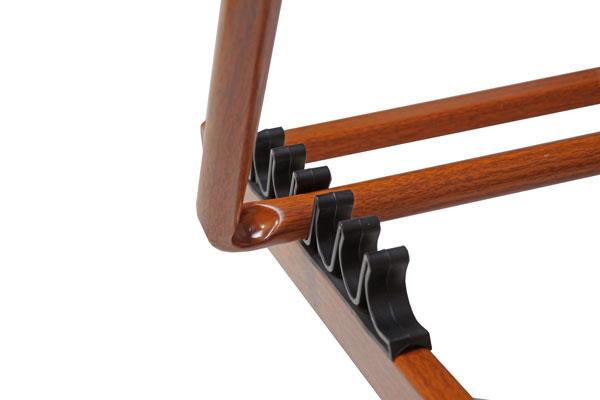 Aluminium-Liegestuhl TREND WOOD – Details