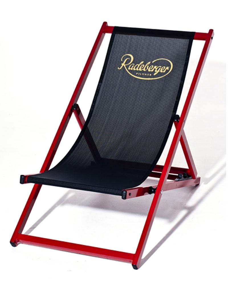 Aluminium-Liegestuhl TREND ohne Armlehne